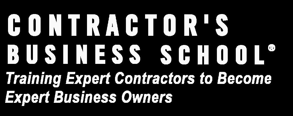 Contractor's Business School
